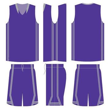 Picture of Basketball Kit Style 519 Blank