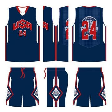 Picture of Basketball Kit Style 551 Custom