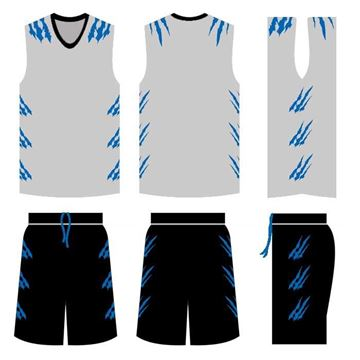 Picture of Basketball Kit Style 544 Custom