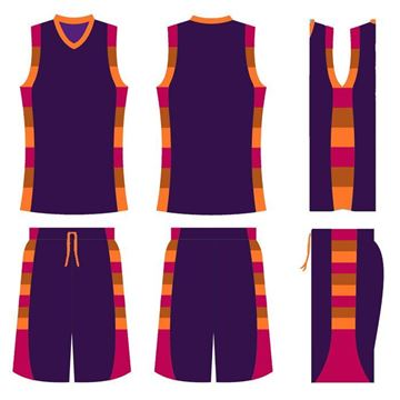 Picture of Basketball Kit Style 517 Custom