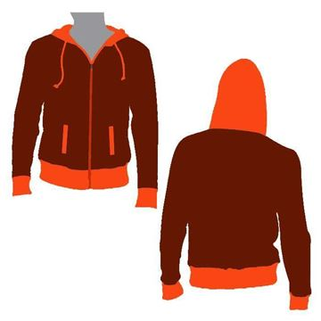 Picture of Beast Hooded Jacket Style 833 Blank