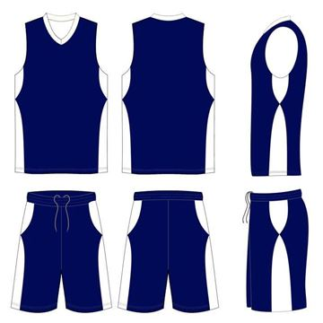 Picture of Basketball Kit Style 547 Custom
