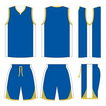 Picture of Basketball Kit Style 545 Custom
