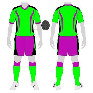 Picture of Soccer Kit Style WB162 Custom