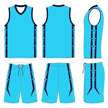 Picture of Basketball Kit Style 558 Custom