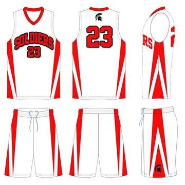 4f5b97200c7 Basketball Kit Style 506 Custom