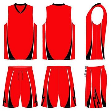 Picture of Basketball Kit Style 572 Custom