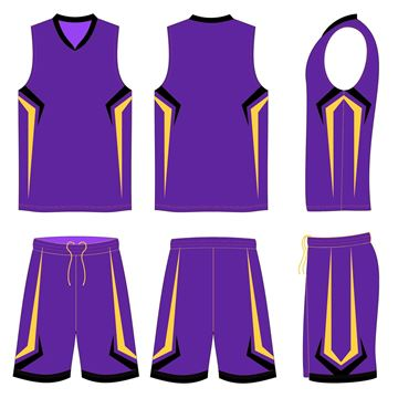 Picture of Basketball Kit Style 574 Custom