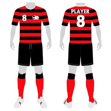 Picture of Soccer Kit Style WB214 Custom
