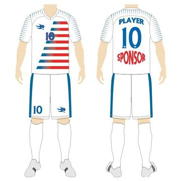 Picture of Soccer Kit Style WB164 Custom
