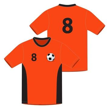 Picture of Soccer Game Jersey Style WB 617 Custom