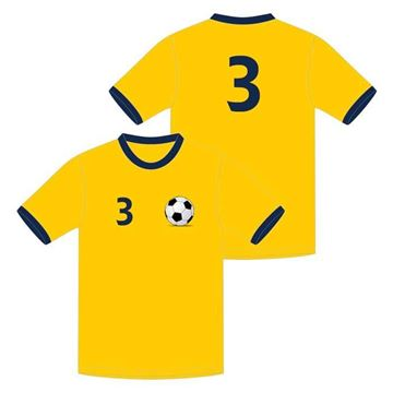 Picture of Soccer Game Jersey Style WB 620 Custom